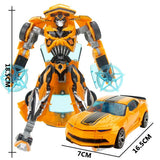 Transformation Deformation Robot Toy Action Figures (19cm)