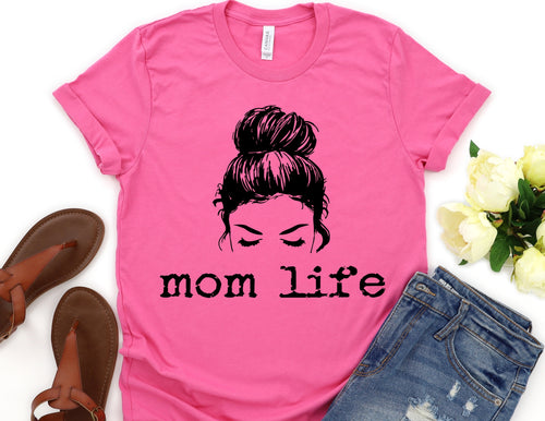 Mom Life Screen Print Transfer