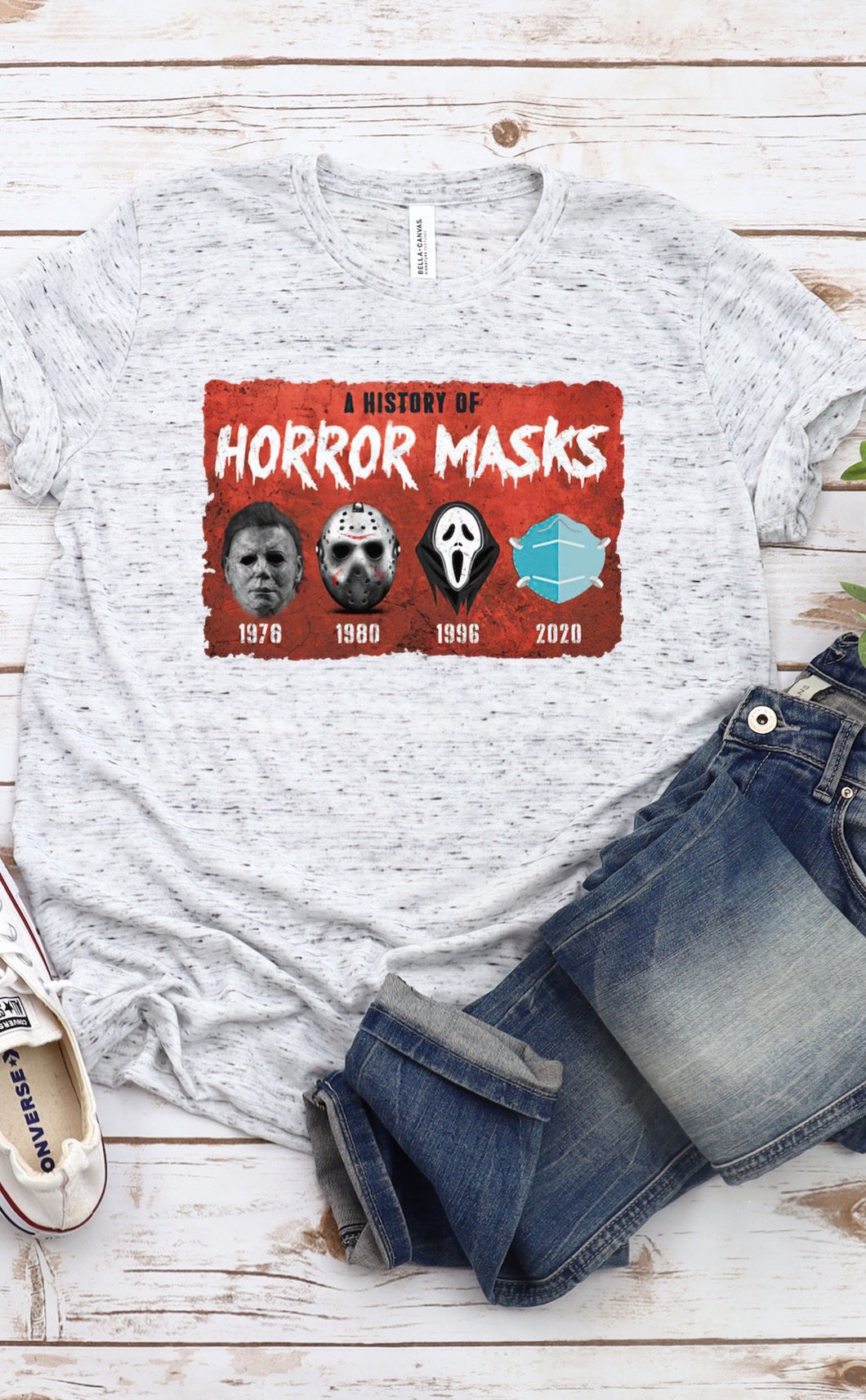 A History Of Horror Masks Sublimation Transfer