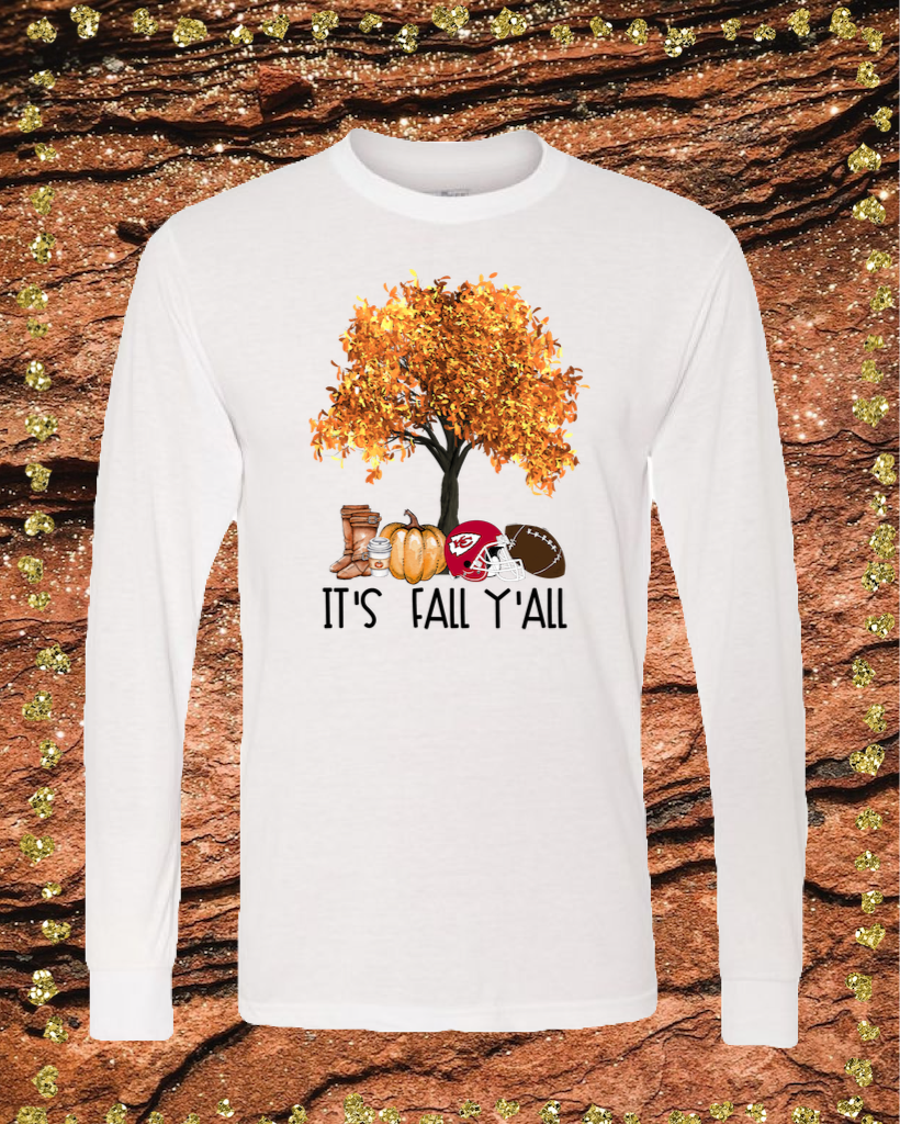 Fall Chiefs Sublimation Transfer