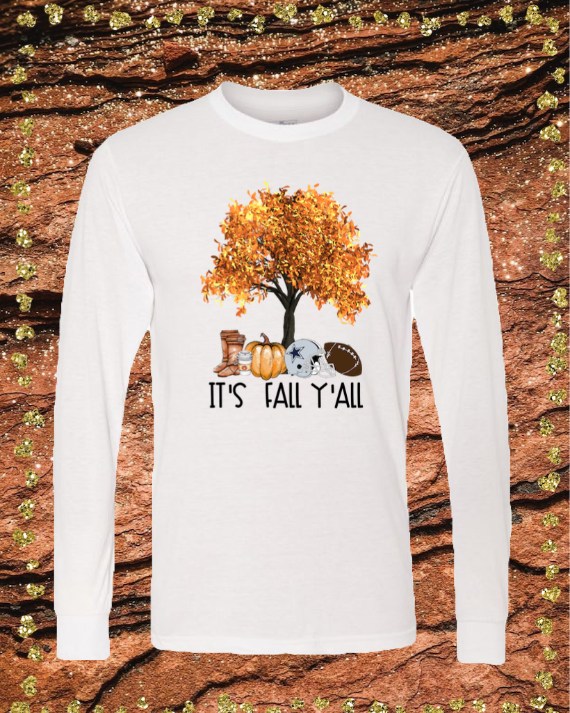 Fall Cowboys Sublimation Transfer