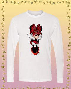 Minnie Leopard (Youth and Adult) Sublimation Transfer