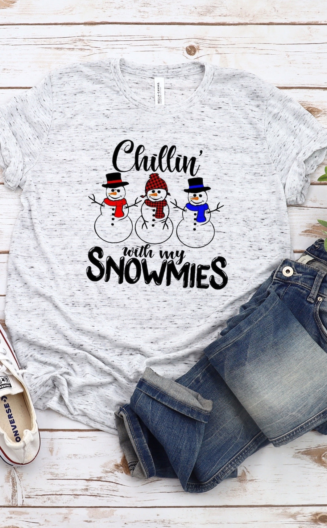Adult Youth Infant Chillin With My Snomies Sublimation Transfer