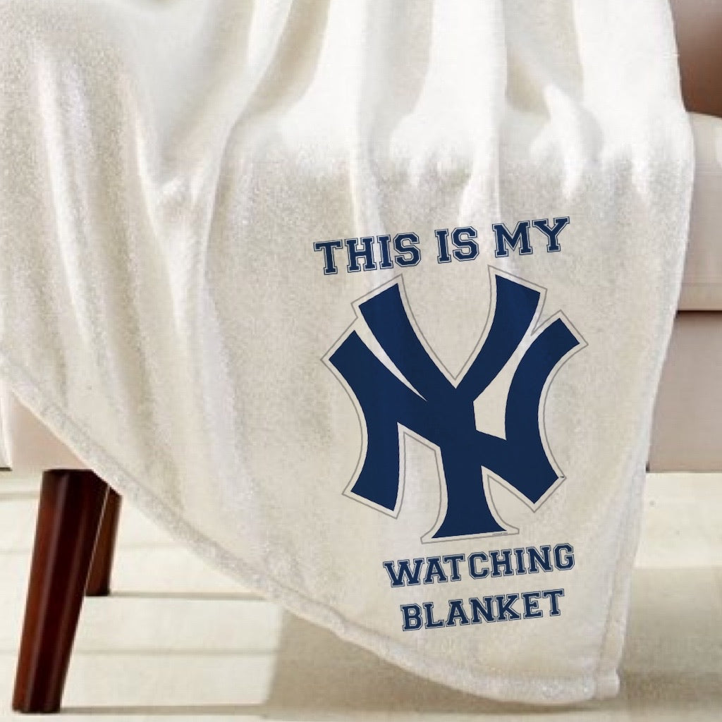 Yankees Watching Blanket Sublimation Transfer
