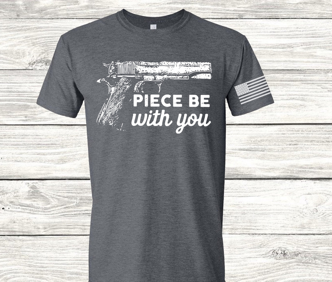 Piece Be With You Screen Print Transfer