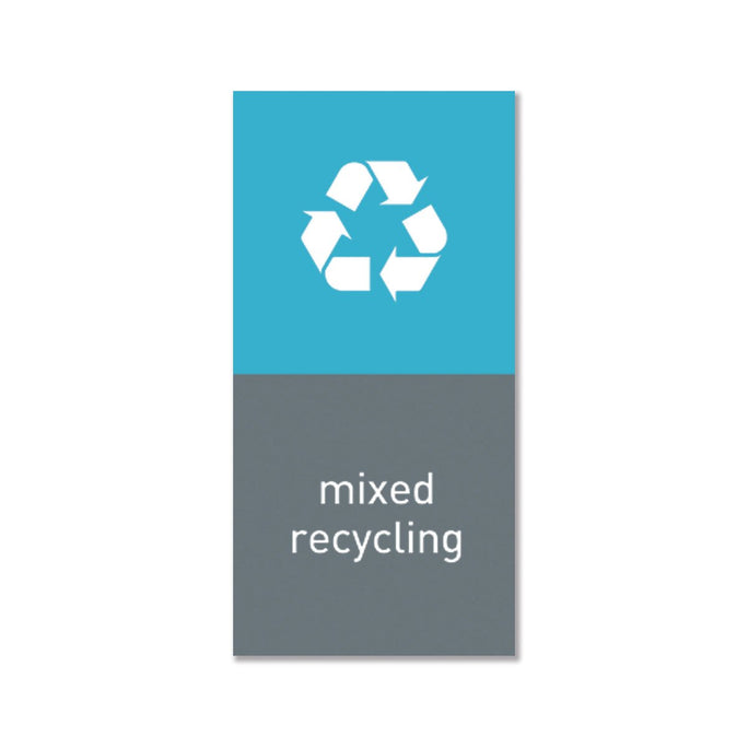 magnetic sorting label - mixed recycling - main image