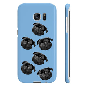 Wpaps Slim Phone Cases Face dog