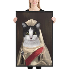 Load image into Gallery viewer, Custom Oil Painted Digital Portrait Framed Poster