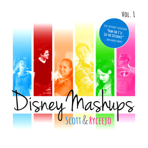 Disney Mashups BUNDLE (Vol. 1 + Vol. 2)