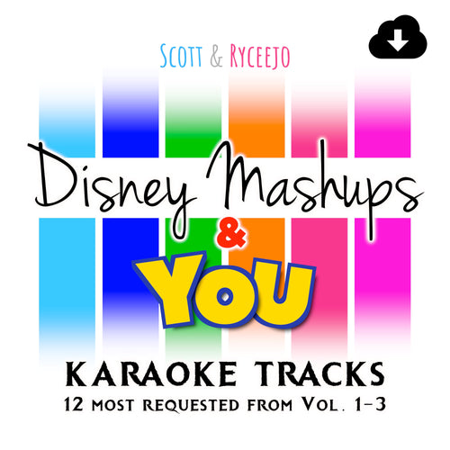 Disney Mashups & YOU - Digital Download