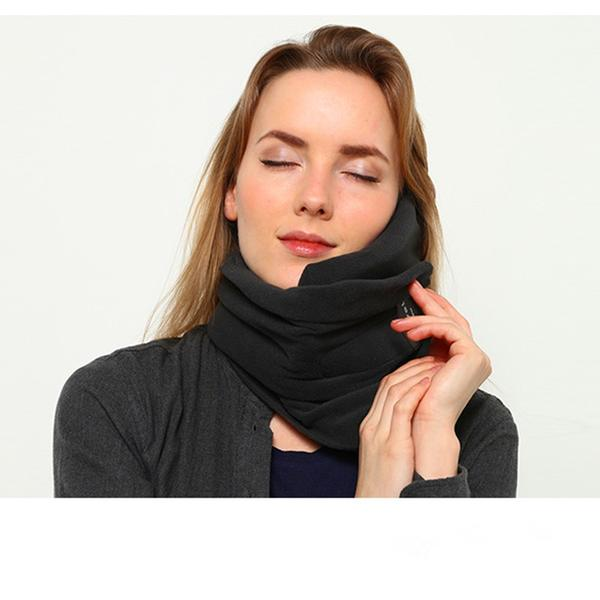 PORTABLE TRAVEL PILLOW SCARF