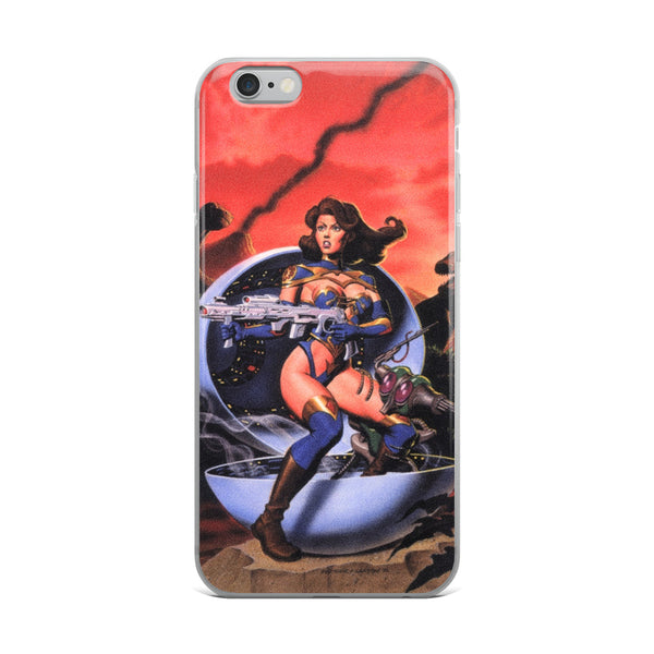 Bodacious Babe iPhone Case