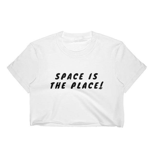 Space Is The Place Crop Top