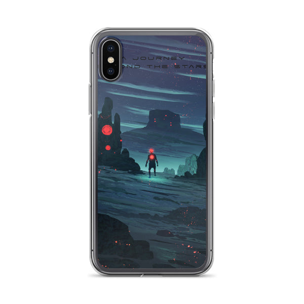 Journey Beyond The Stars iPhone Case