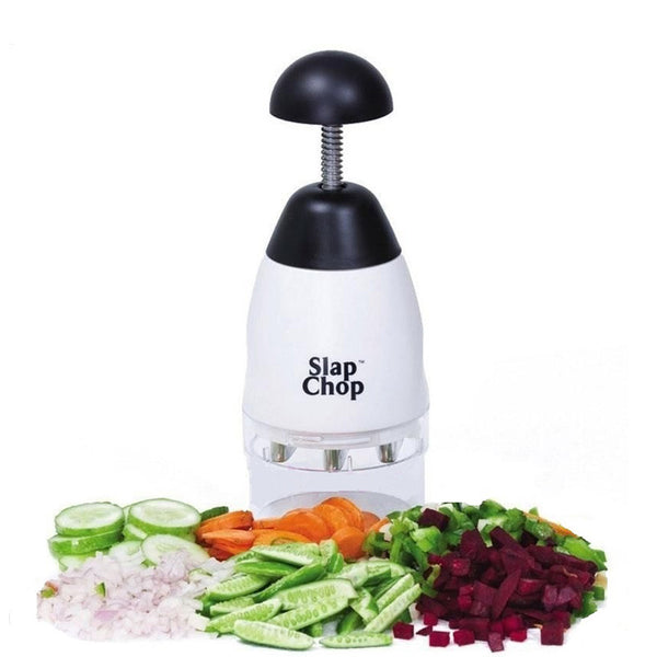 Easy Chop Slicer, Stainless Steel Blades