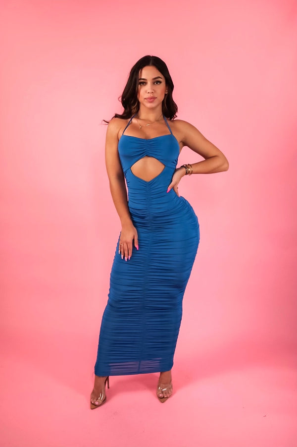 """Ribbed To Perfection"" Maxi Dress"