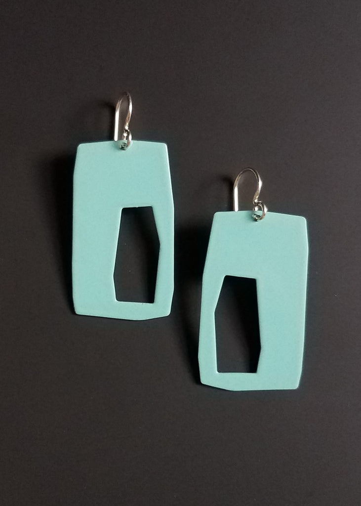 color pop edge earring