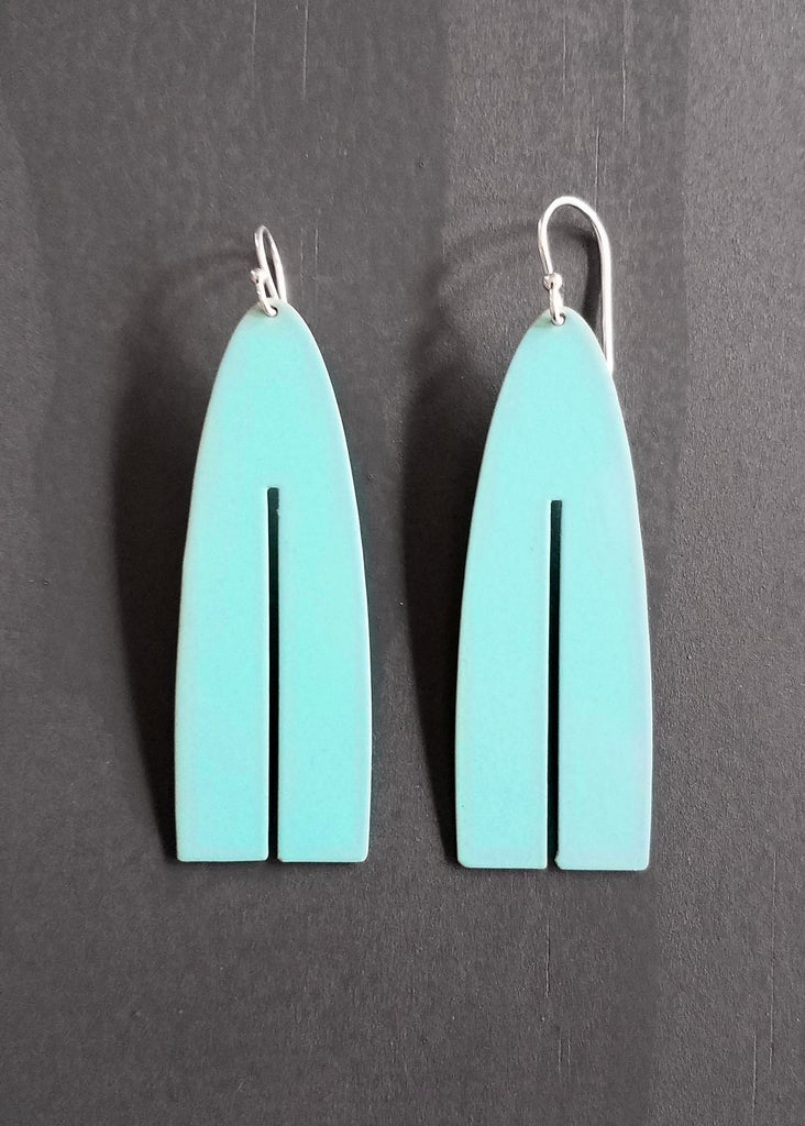 color pop tassle earring