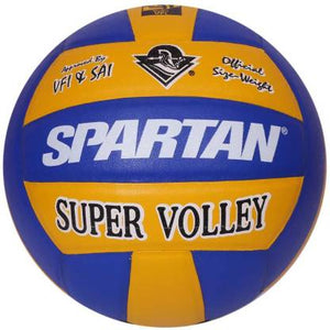 Spartan Super Volley Volleyball - Size: 4  (Pack of 1, Multicolor)