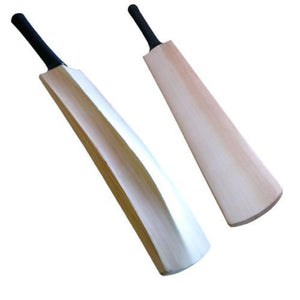 Kashmir Willow Nude Cricket Bat Plain (Without Sticker)