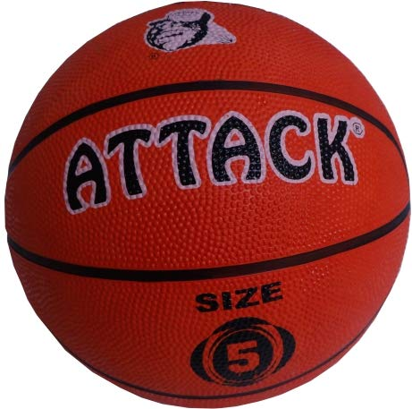 Attack Rubber Moulded Basketball Size 5