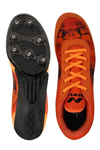 Nivia Zion-1 Men's Running Spike Shoes - sppartos