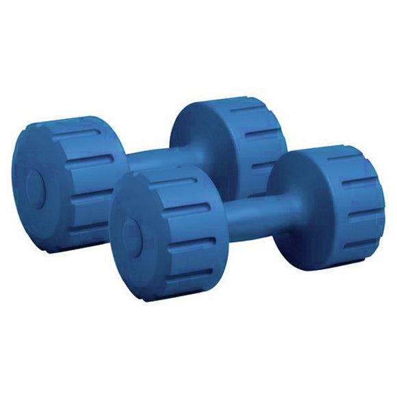 PVC Dumbells (Pack of 2) for home fitness and exercise
