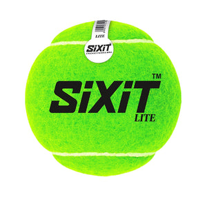 SiXiT Lite Cricket Tennisball-Pack of 6