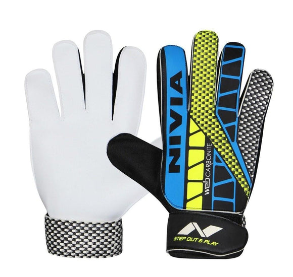 Nivia Carbonite Web Football Goalkeeper Gloves