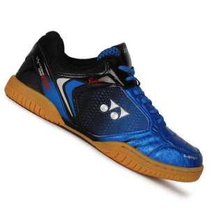 Yonex LEGEND KING 68 Badminton Shoes (Blue/Gunmetal Gray)