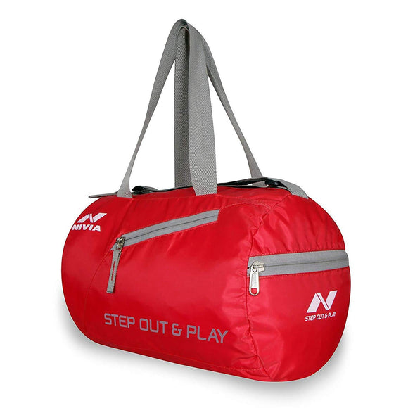Nivia Deflate Round Gym Bag