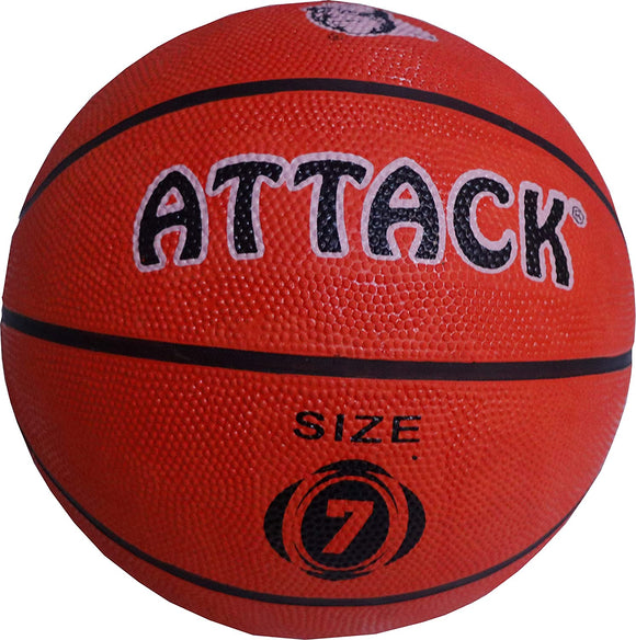 Attack Rubber Moulded Basketball Size 7