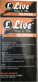 "Live Weight Lifting Gloves with 12"" Wrist Wrap Support for Workout, Gym, Sports."