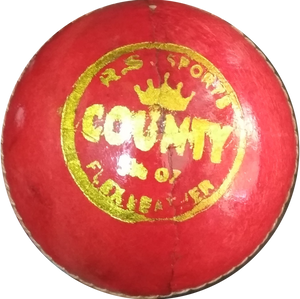 NN Sports County Cricket Leather Ball 4pc