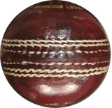 Hatrick Cricket Leather Ball Red 4pc