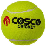 Cosco Light Weight Cricket Ball, Pack of 6 (Yellow)