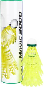 Yonex Mavis 2000 Green Cap Badminton Shuttlecock (Pack of 6)