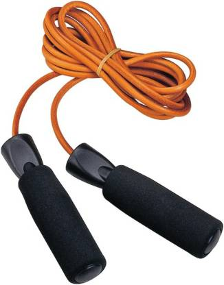 Natural Rubber Skipping Rope for Gym, Crossfit, Double Unders, Speed Jumping, Cardio and Weight Loss