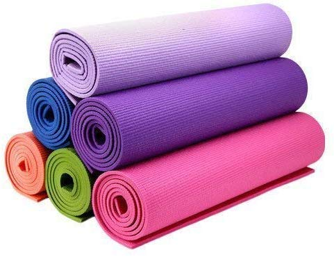 Upgraded Yoga Mat Eco Friendly Non-Slip Exercise & Fitness, Workout Mat for All Type of Yoga, Pilates and Floor Exercises(4 mm Size)