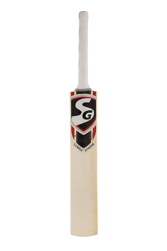 SG Cobra Xtreme English Willow Cricket Bat ( Size: Short Handle,Leather Ball )