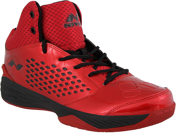 Nivia Warrior Men's PU Synthetic Leather Basketball Shoes