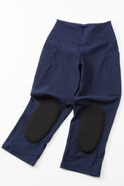 Stylish gardening pants for women with protective knee pads by PowerGardening.