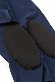 Close-up of stylish gardening pants for women with protective knee pads by PowerGardening.