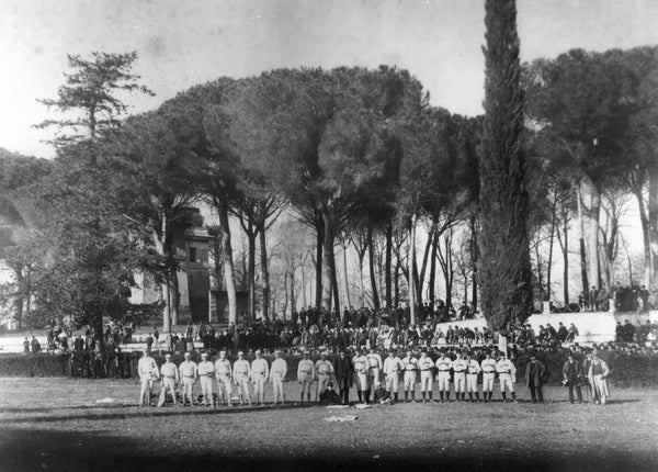 Spalding World Baseball Tour Villa Borghese