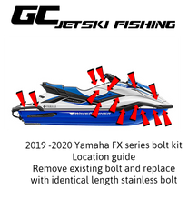 Load image into Gallery viewer, 2019 - 2021 Yamaha Waverunner FX bolt kit