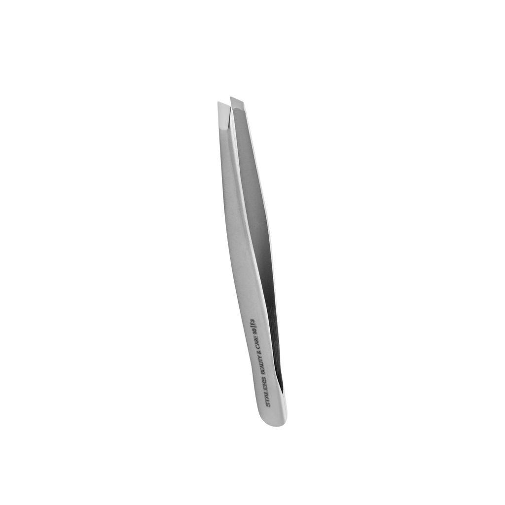 Eyebrow tweezers BEAUTY & CARE 10 TYPE 3 (wide slant) - TBC-10/3