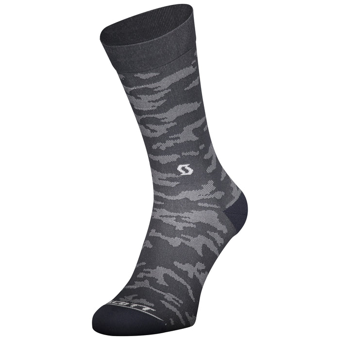SCOTT TRAIL CAMO CREW SOCKS