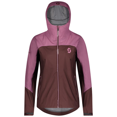 SCOTT TRAIL MTN WP W/HOOD WOMEN'S JACKET
