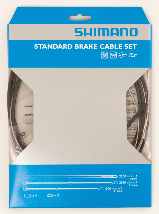 SHIMANO STANDARD BRAKE CABLE SET (INNER/OUTER)