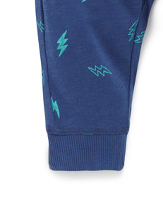 Lightening Bolt Slouchy Pants